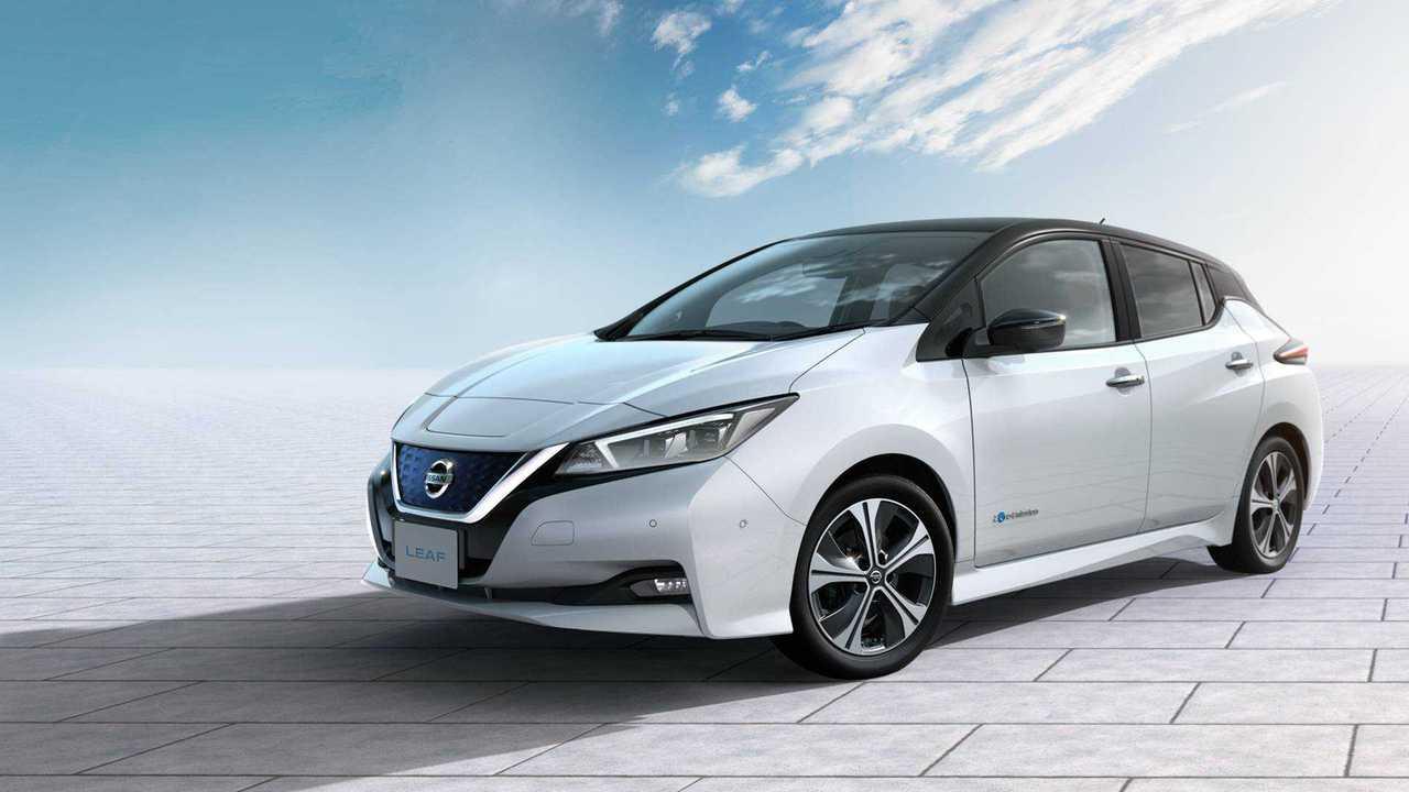 Nissan Leaf - 362 km