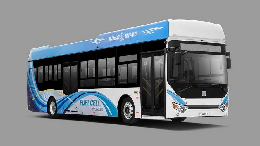Yuan Cheng F12 Hydrogen Fuel Cell Bus