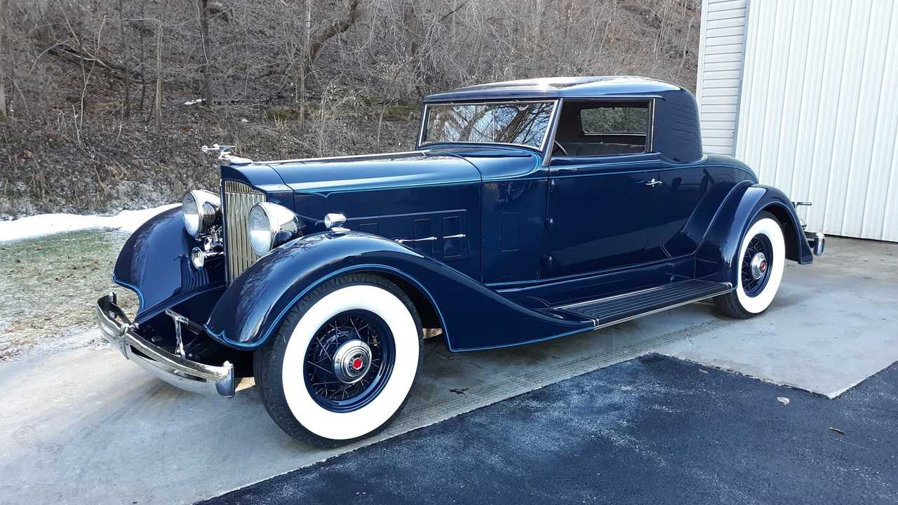 1934 Packard 1101 Coupe