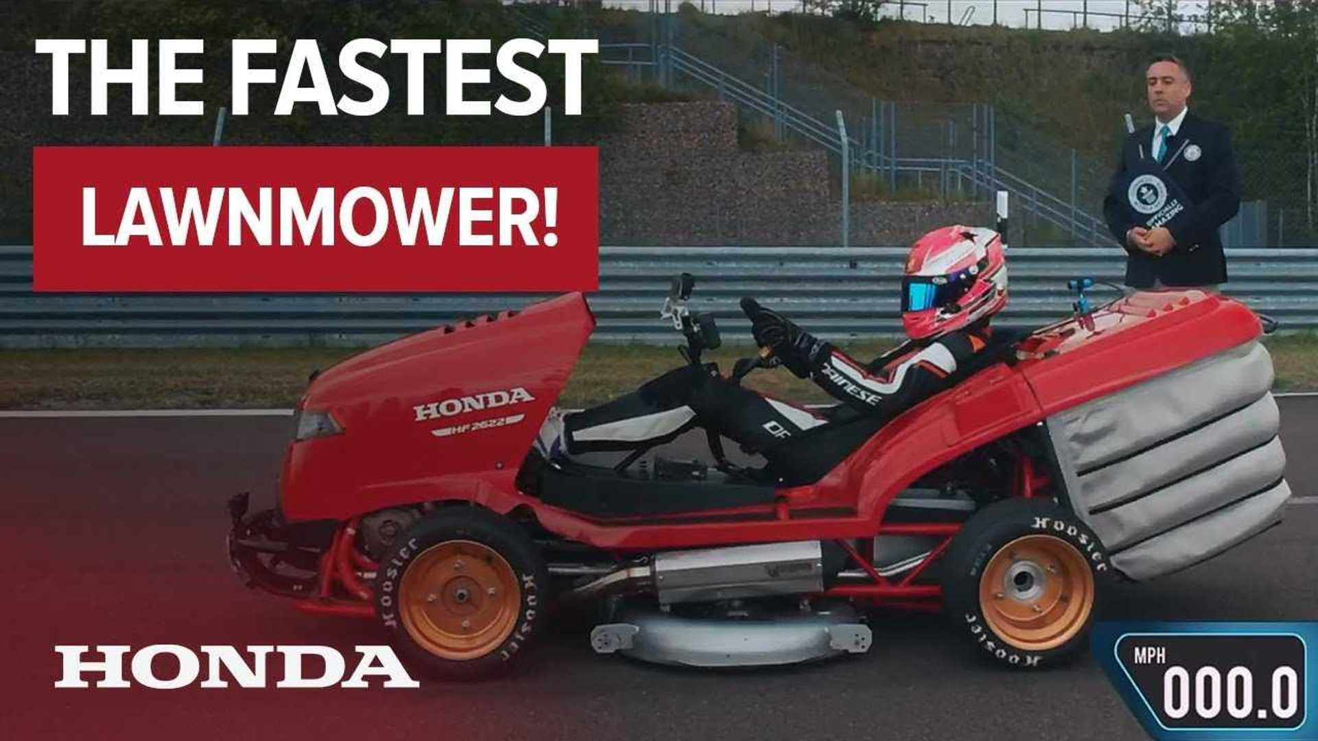 Honda Mean Mower Hits 100 Mph In 6 285