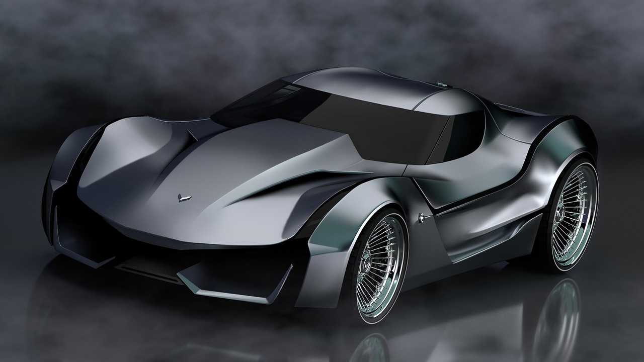Corvette Stingray Concept 60th Anniversary rendering is ...