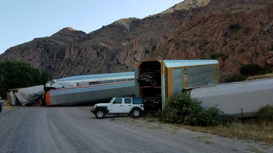 Car-Carrying Train Derailment
