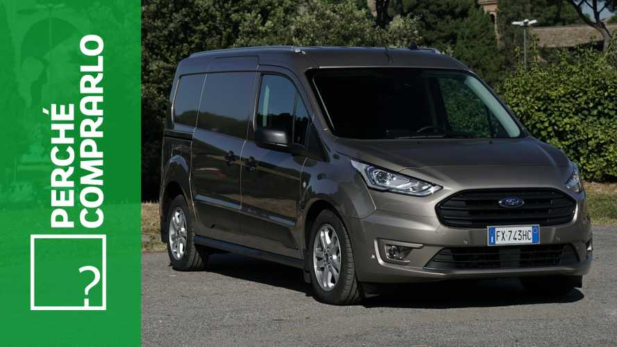 Ford Transit Connect 1.5 TDCI 120 CV , perché comprarlo... e perché no