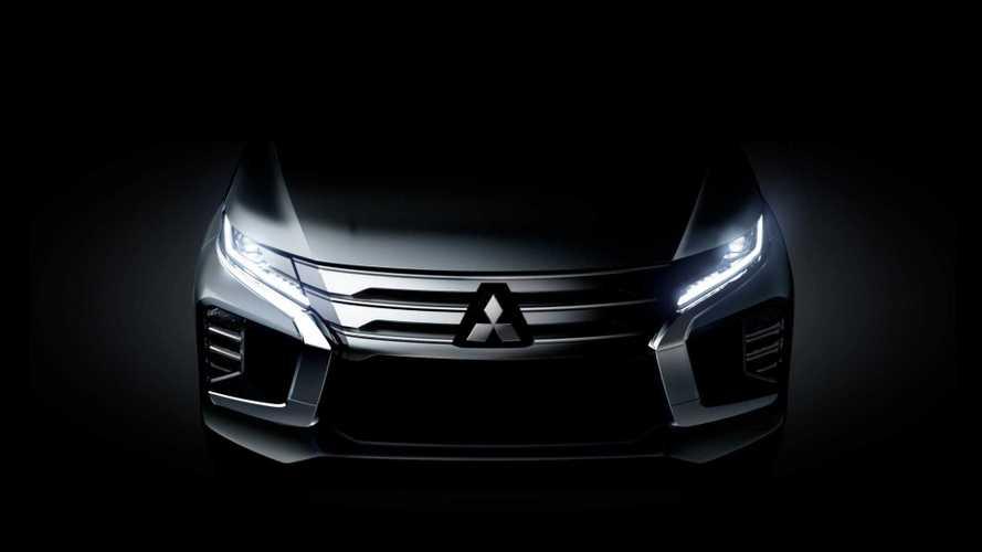 Mitsubishi divulga teaser e confirma Pajero Sport com novo visual