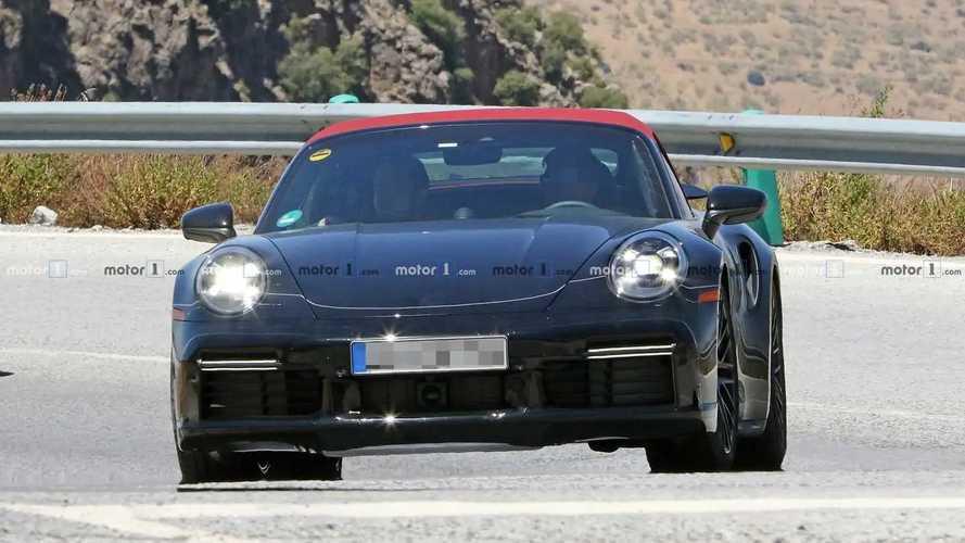 Porsche 911 Turbo Cabriolet шпионские фото
