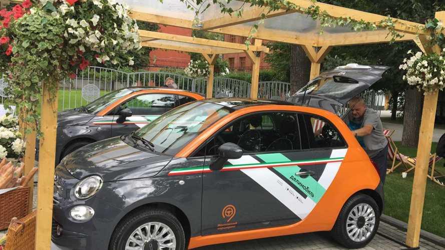 В столичном каршеринге появится Fiat 500
