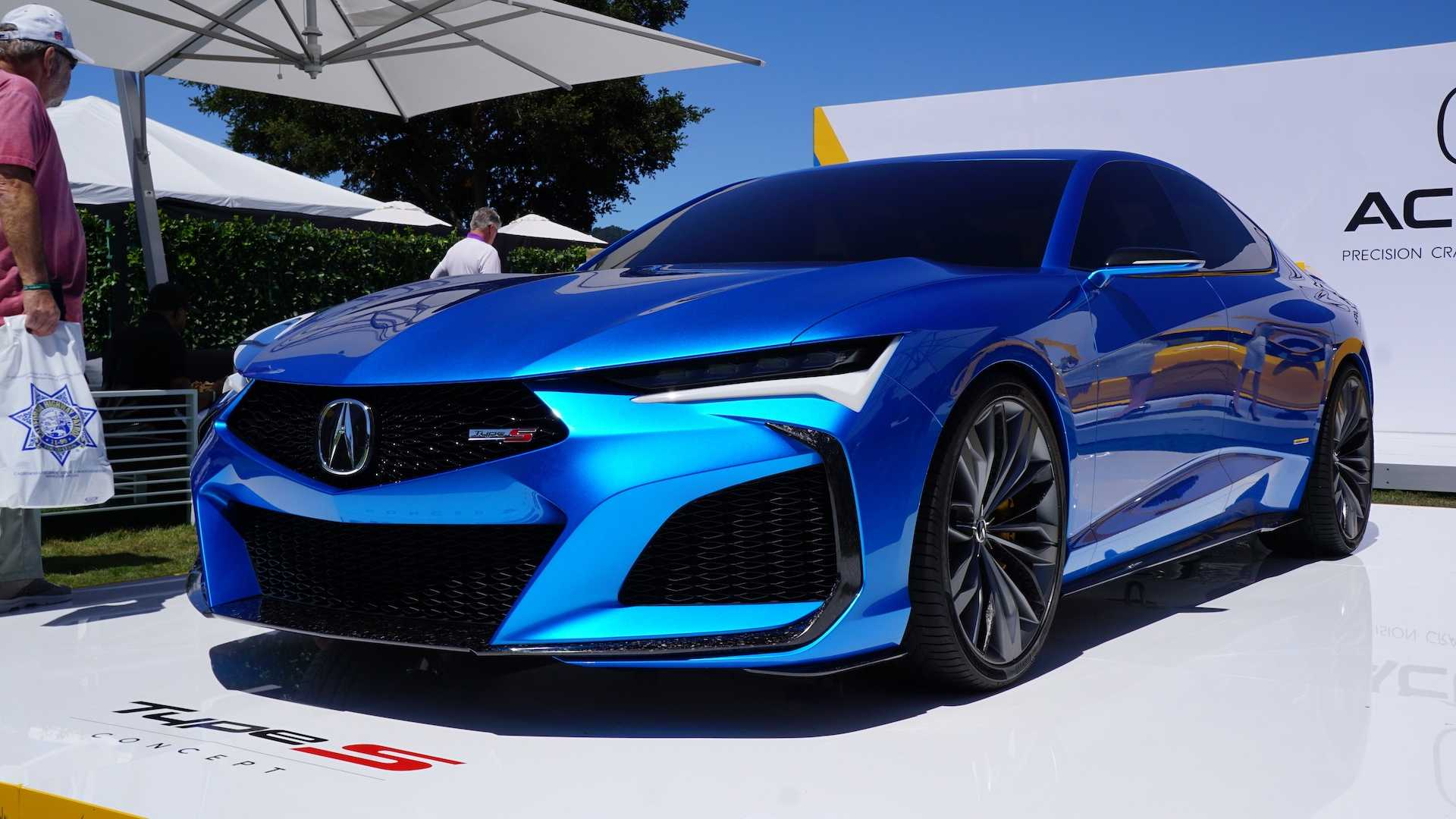 Acura Type S Concept, NSX Indy Yellow Pearl Dazzle At Pebble Beach
