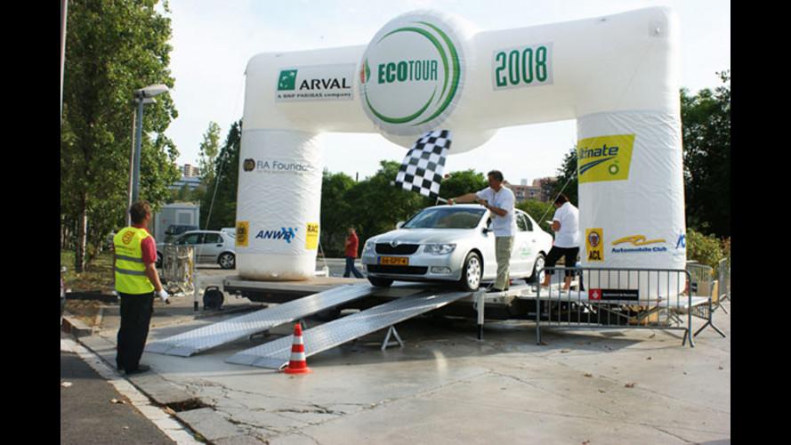 A Como l'unica tappa italiana di EcoTour 2008