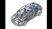 Nuova Mercedes Classe B. Il pianale