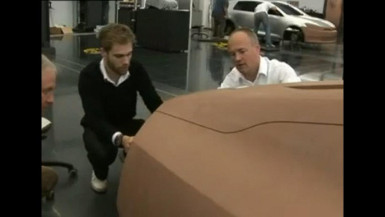 La Volkswagen Golf 7 in lavorazione