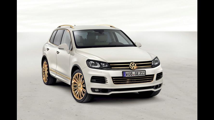 Volkswagen Race Touareg 3 Qatar e Gold Edition