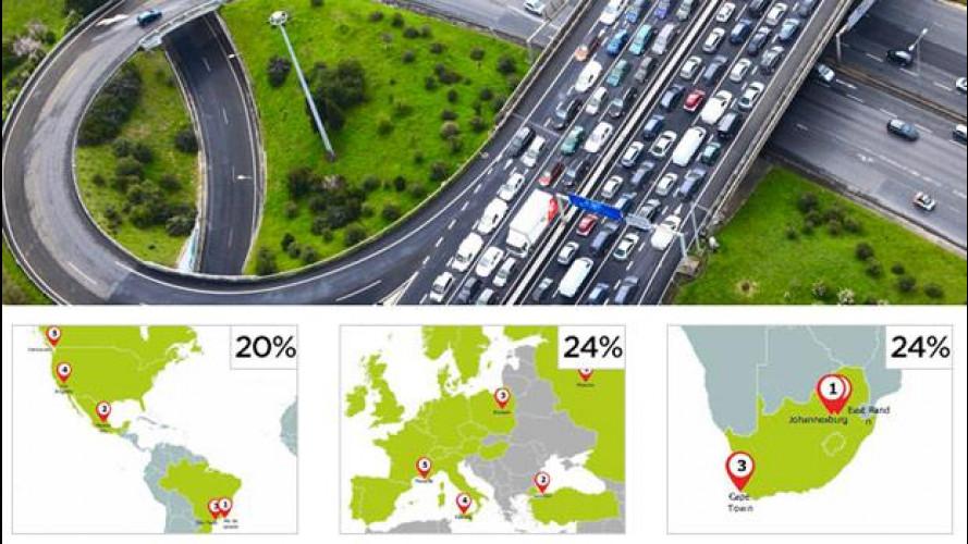 Palermo e Roma tra le città più trafficate al mondo
