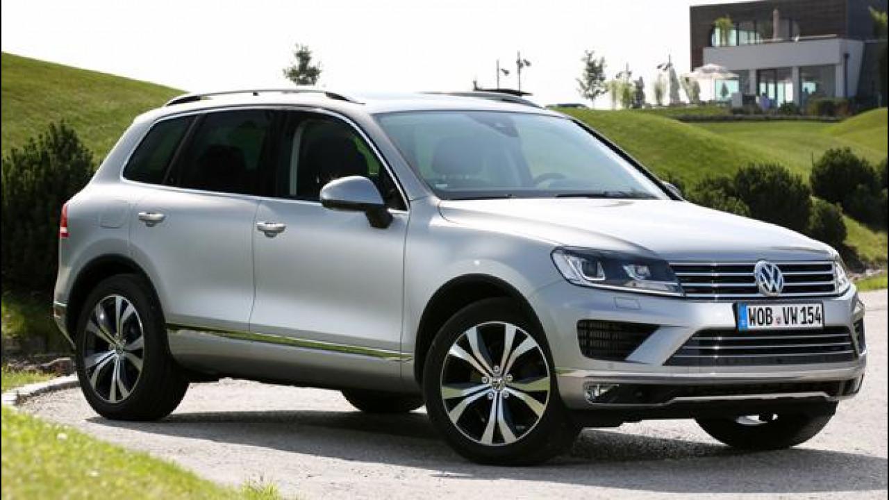 [Copertina] - Volkswagen Touareg, restyling leggero