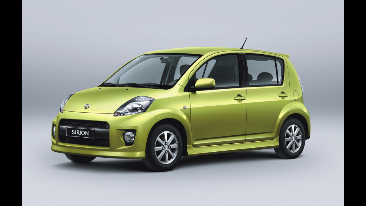 Nuova Daihatsu Sirion Sport