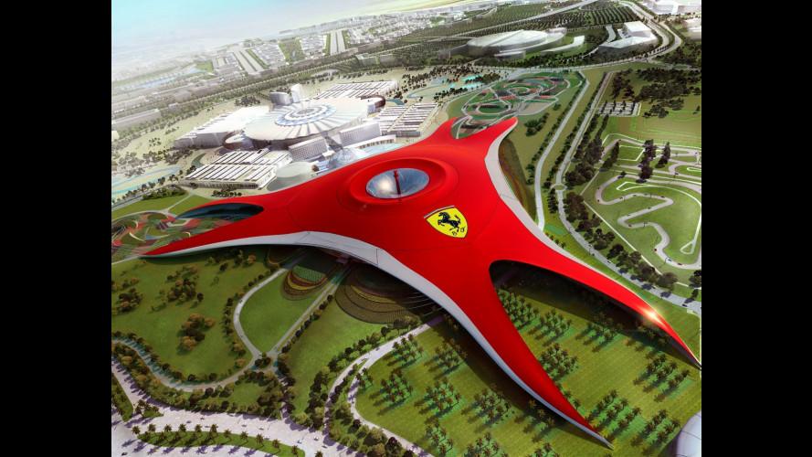 Il luna park Ferrari di Abu Dhabi apre fra 100 giorni