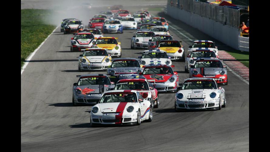Carrera Cup 2008: a Misano trionfano Monti e Monforte