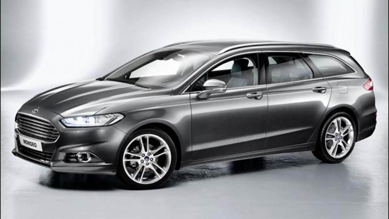 [Copertina] - Nuova Ford Mondeo, le prime immagini della quarta generazione