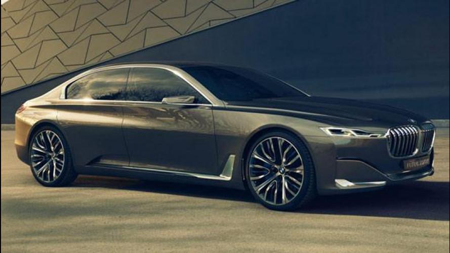 BMW Vision Future Luxury, ammiraglia minimalista