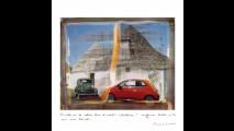 La Fiat 500 vista da Maurizio Galimberti
