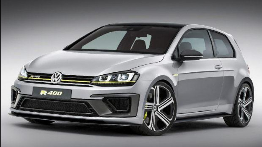 Volkswagen Golf R 400, interni racing e tanta grinta