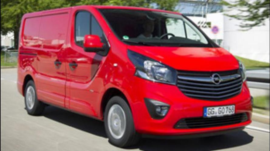 Opel Vivaro, abitacolo da monovolume