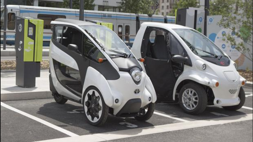 Car sharing, a Grenoble c'è la Toyota i-Road