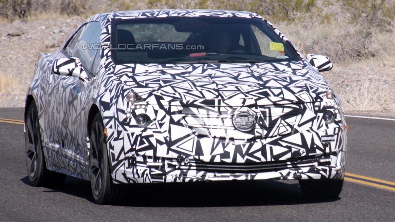 2014 Cadillac ELR spy photo 11.9.2012