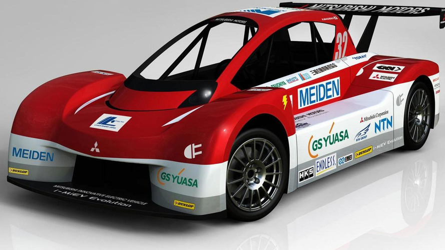 Mitsubishi i-MiEV Evolution revealed for Pikes Peak International Hill Climb