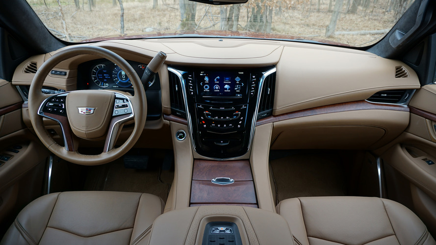2017 Escalade Interior >> 2017 Cadillac Escalade Review: Beauty and brawn