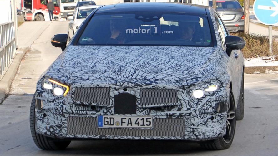 La Mercedes CLS 2018 en photos espion