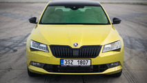 Skoda Superb Sportline with Dragon Skin paint