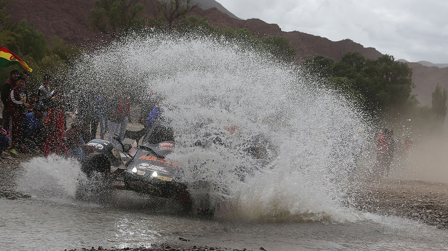 Pluies diluviennes en Bolivie - La 6e étape du Dakar annulée
