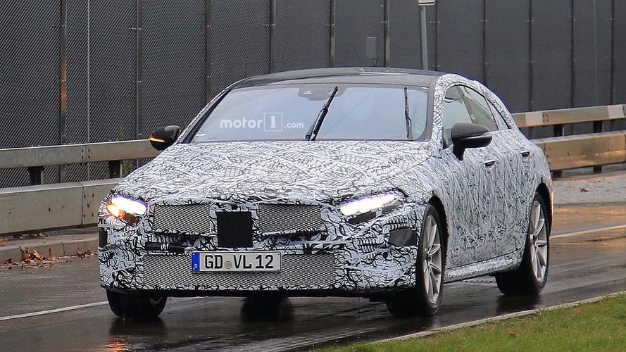 Mercedes-Benz CLE-Class Spy Photos