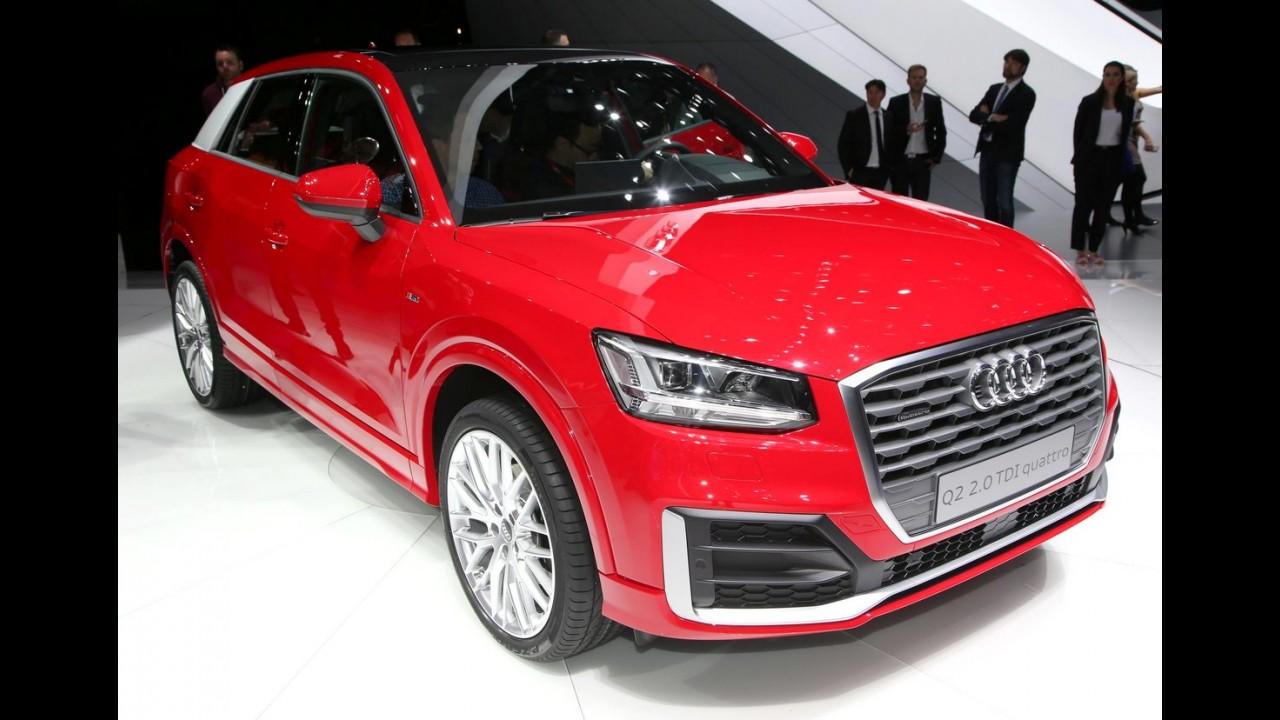 Este é o novo Audi Q2, que estreia com visual
