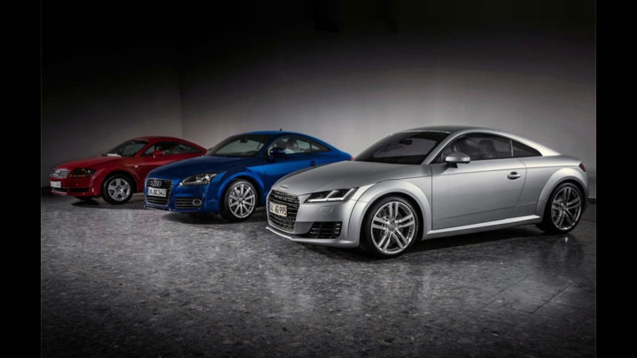 Com lançamento breve, novo Audi TT já tem site no Brasil