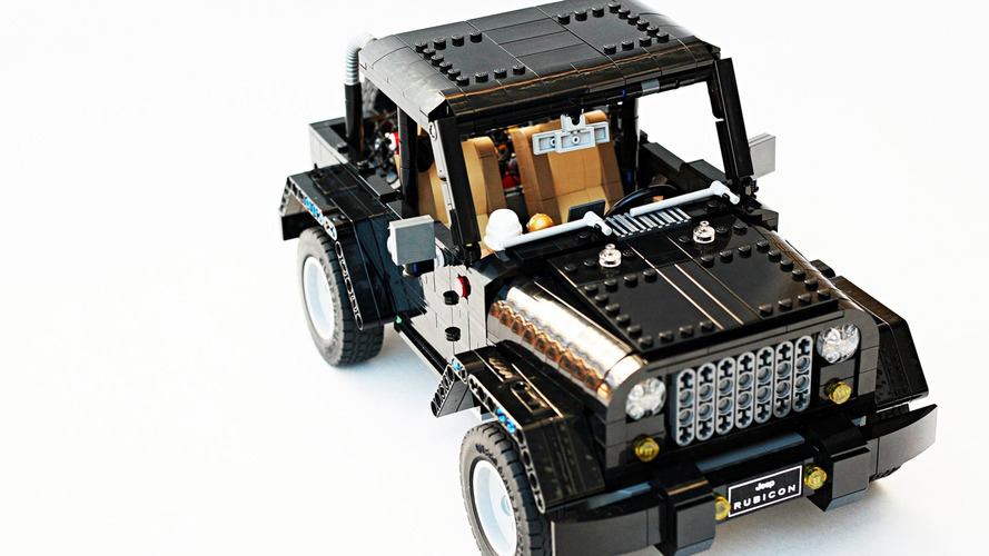 Lego - Un Jeep Wrangler hyper-réaliste !
