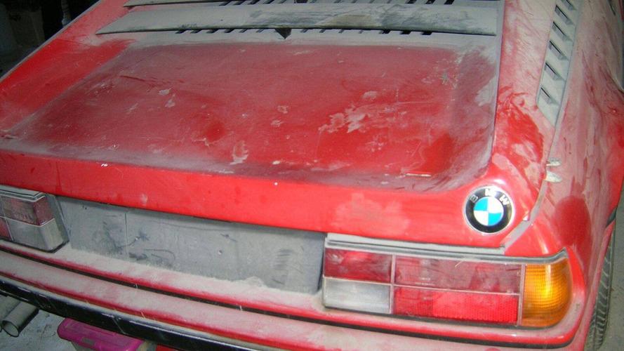 Terk edilmiş 1981 BMW M1