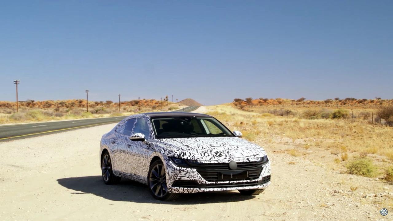 VW Tiguan / Arteon test videosu