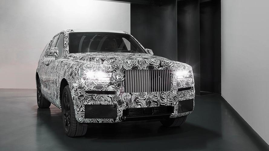 Rolls-Royce divulga as primeiras imagens do Cullinan, seu inédito SUV