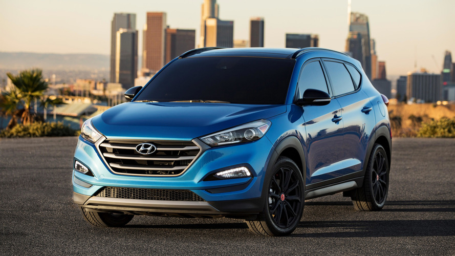 Hyundai Tucson Night Edition is stylish at any hour