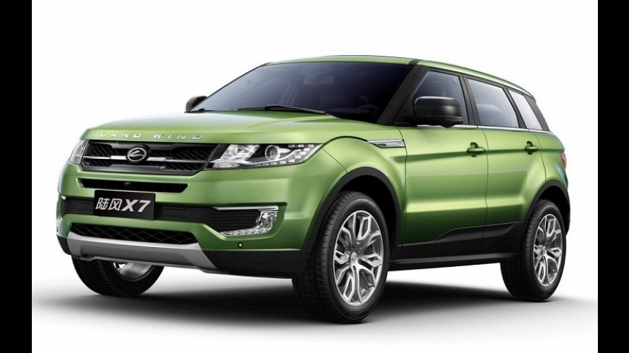 Landwind divulga vídeo e mostra mais sobre o clone chinês do Evoque