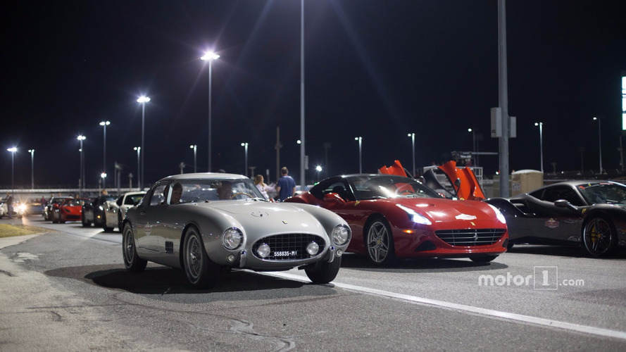 World record Ferrari parade attempt in Daytona falls short