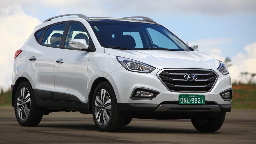 Hyundai ix35 2017 recebe pequenas mudanças para acompanhar os novos irmãos