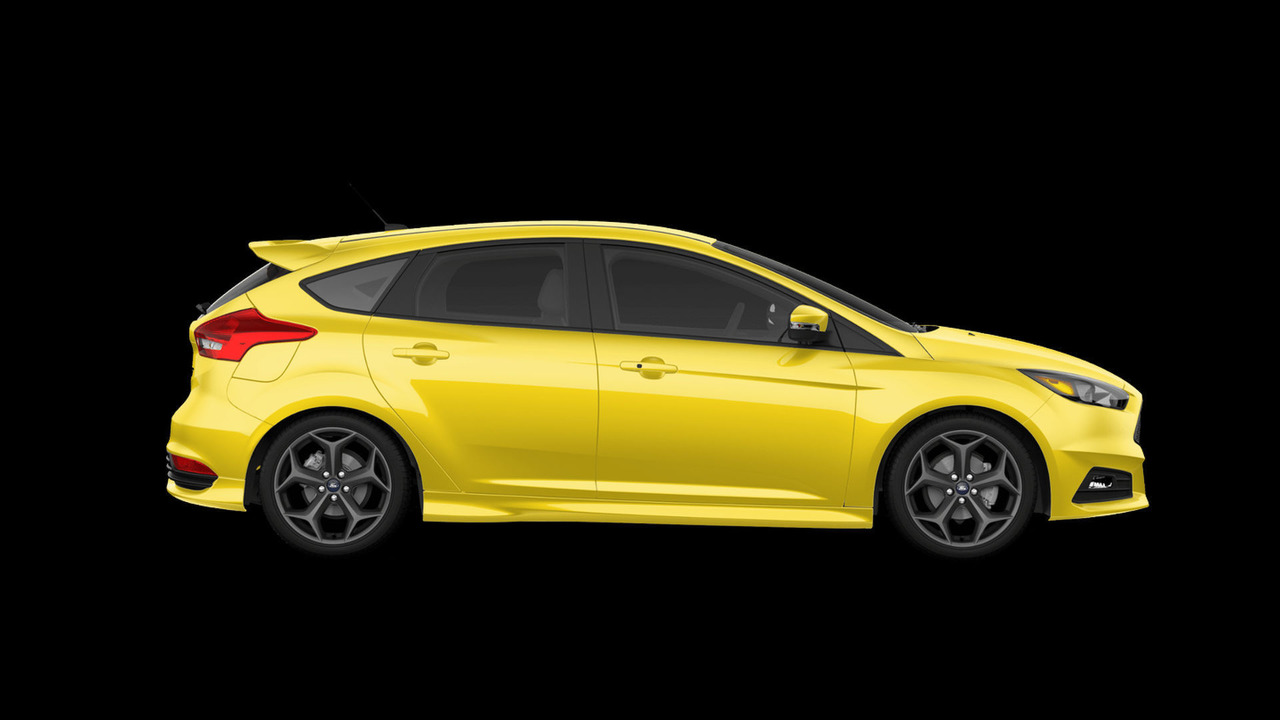 2017 Ford Focus ST Triple Yellow