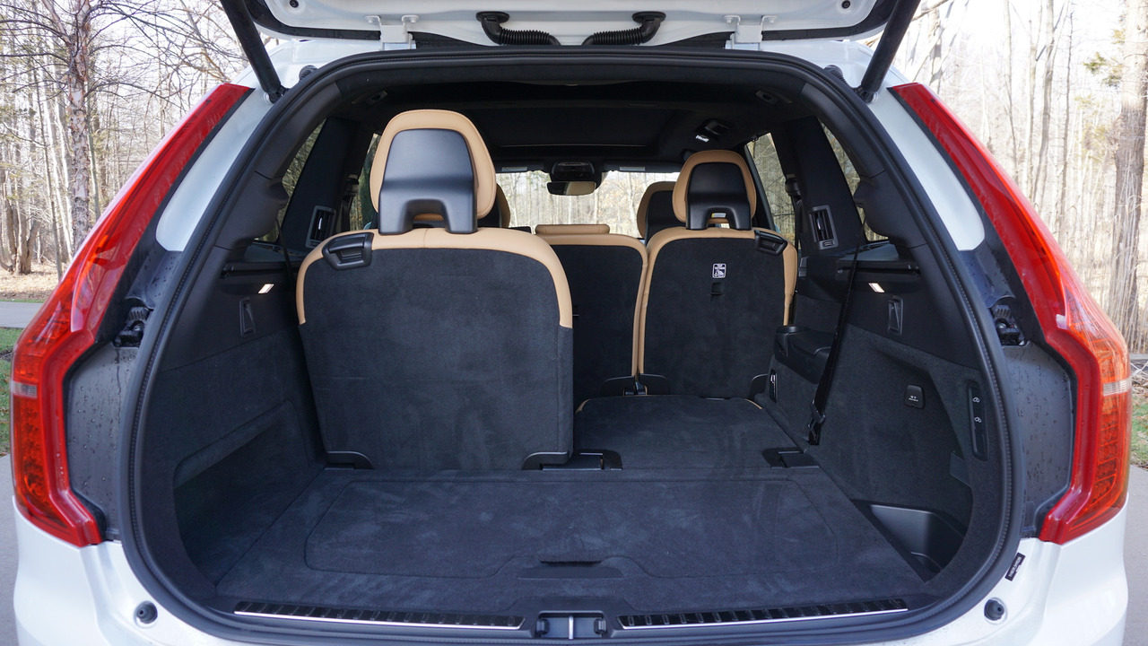 Volvo Xc90 Gets Standard Three Row Layout In The U S