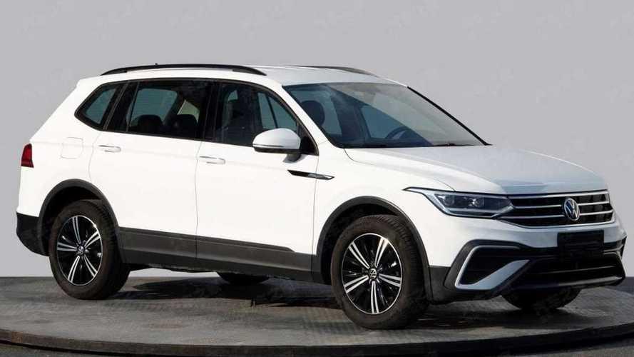 VW Tiguan Allspace aparece com novo visual pela primeira vez