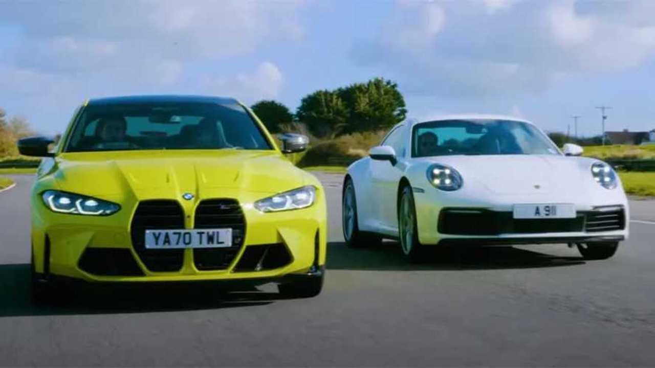 BMW M4 Competition vs Porsche 911 Carrera