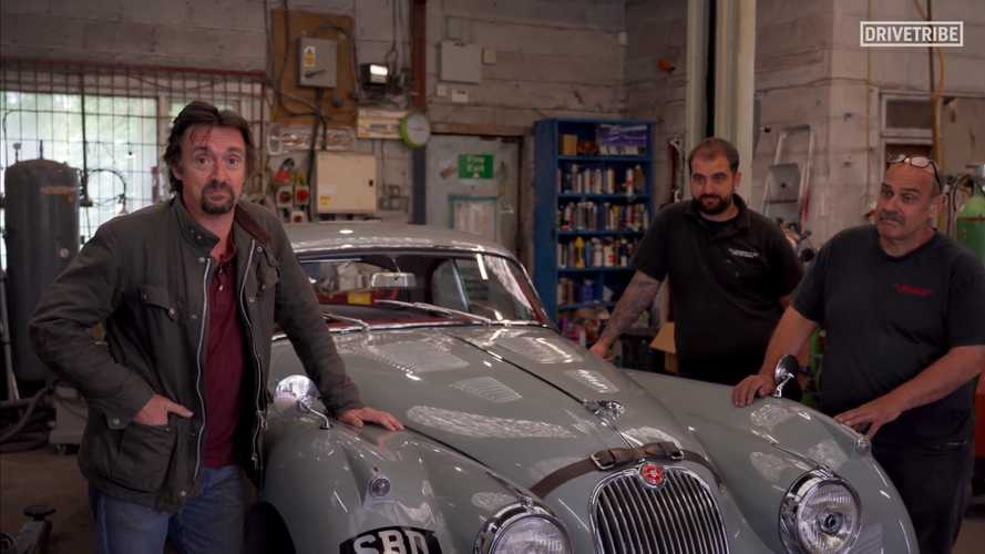 Richard Hammond Opening Classic Car Restoration Shop For New Show