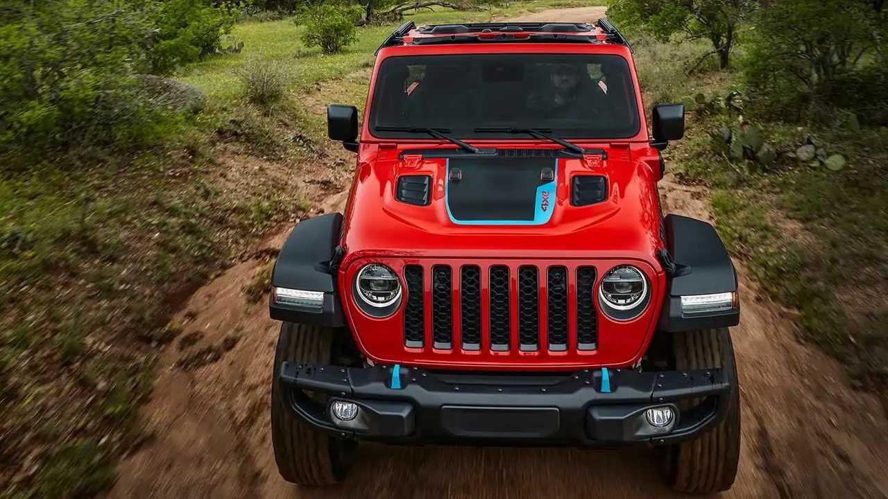 jeep wrangler 4xe nose