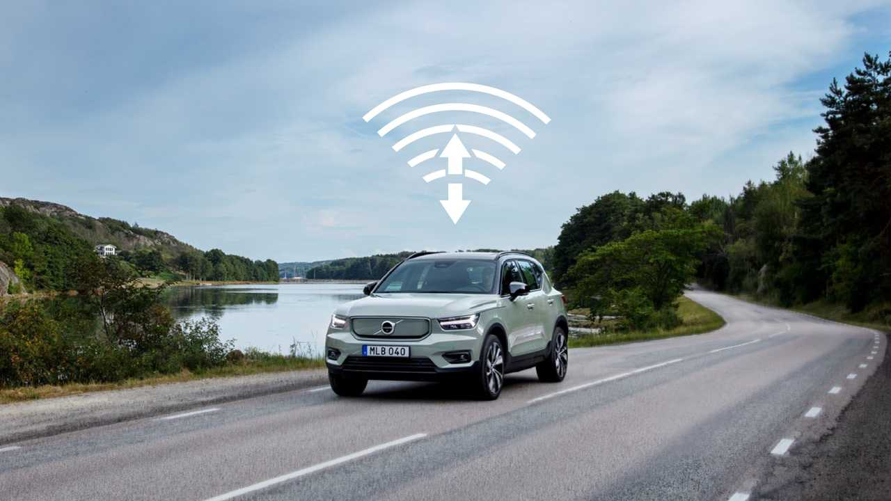 Volvo first ever over-the-air software update on XC40 Recharge